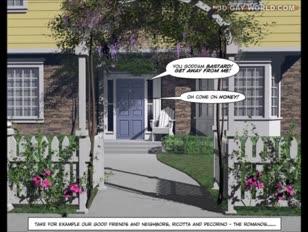 Desperate hubbies 3d fag animatie geanimeerde comics