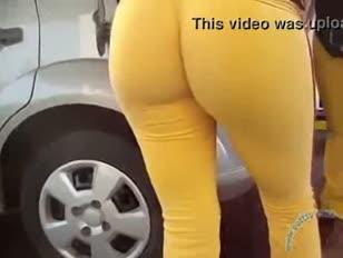 Amarelo geen posto van gasolina muito sexy